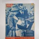 Coleccionismo de Revista Hola: REVISTA ¡HOLA! Nº 932. DEL 7 AL 13 DE JULIO DE 1962. BAUTIZO HIJO CONDES LIMBOURG STIRUM. TDKR26. Lote 148074234
