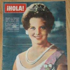 Coleccionismo de Revista Hola: HOLA #1151 1966 MARGRETHE DENMARK SYLVIE VARTAN JANE ASHER BEATLES BRIGITTE BARDOT SHEILA REVISTA. Lote 148136082
