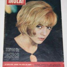 Coleccionismo de Revista Hola: HOLA #1078 1965 SYLVIE VARTAN PATTIE BOYD BEATLES KENNEDYS MISS NATIONS OSCARS MAGAZINE REVISTA. Lote 148138242