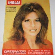 Coleccionismo de Revista Hola: HOLA #1222 1968 JACKIE BISSET KENNEDY VIRNA LISI SERRAT SICILIA DUKE WINDSOR LUCIA BOSE SERRAT. Lote 148138406