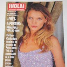 Coleccionismo de Revista Hola: HOLA PRET-A-PORTER 1998 ESTHER CANADAS LAURA PONTE STELLA MCCARTNEY DIOR VERSACE MODA. Lote 148139482