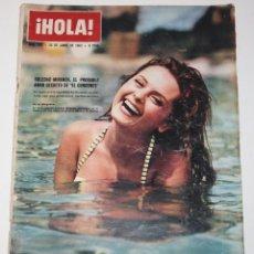 Coleccionismo de Revista Hola: HOLA #982 1963 SOLEDAD MIRANDA LIZ TAYLOR ELSA MARTINELLI BRIGITTE BARDOT SPAIN MAGAZINE REVISTA. Lote 148140374