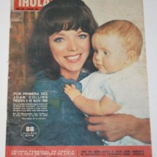 Coleccionismo de Revista Hola: HOLA #1055 1964 JOAN COLLINS BEATLES ROBERT KENNEDY MARGARET UK LIZ TAYLOR MARISOL MAGAZINE REVISTA. Lote 148140678