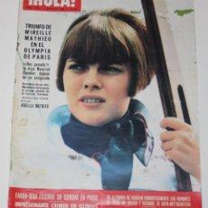 Coleccionismo de Revista Hola: HOLA #1153 1966 MIREILLE MATHIEU GRACE MONACO MITA MEDICI FARAH DIBA PANTYS JULIE CHRISTIE REVISTA. Lote 148141654