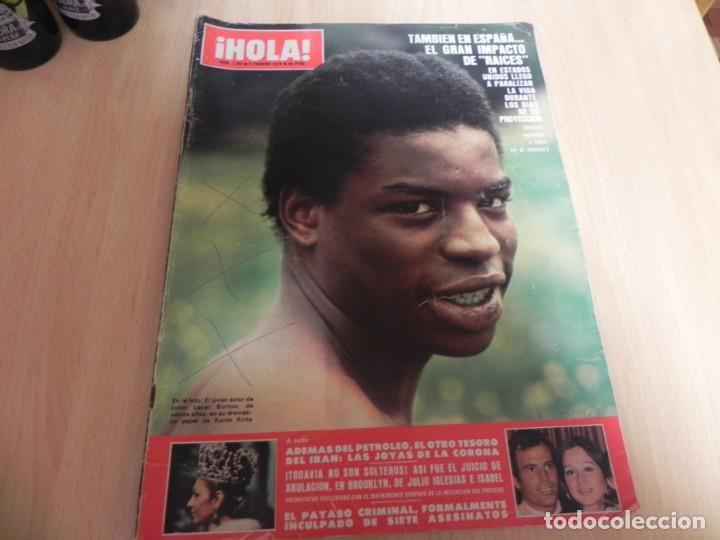 REVISTA HOLA - Nº1997 - 03/02/1979 - RAICES - JULIO IGLESIAS E ISABEL PREYSLER (Coleccionismo - Revistas y Periódicos Modernos (a partir de 1.940) - Revista Hola)