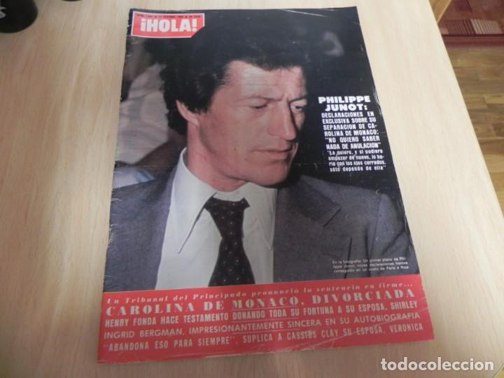 REVISTA HOLA - Nº1887 - 25/10/1980 - EMILIO VILLOTA - ANGELES DE CHARLIE - CAROLINA DE MONACO (Coleccionismo - Revistas y Periódicos Modernos (a partir de 1.940) - Revista Hola)