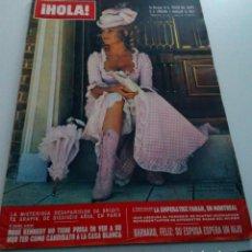 Coleccionismo de Revista Hola: BRIGITTE BARDOT.FARAH.ROSE KENNEDY.BARNARD.REVISTA HOLA Nº 1.402.JULIO 1971.. Lote 152520666