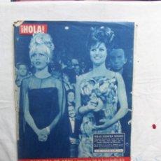 Coleccionismo de Revista Hola: REVISTA HOLA Nº 906 - 6 AL 12 DE ENERO DE 1962 CLAUDIA CARDINALE Y BRIGITTE BARDOT . Lote 153557230