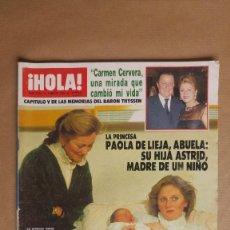 Coleccionismo de Revista Hola: HOLA. DIANA GALES JULIO IGLESIAS FRANK SINATRA SILVESTER STALLONE ROGER MOORE. Lote 153955982