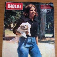 Coleccionismo de Revista Hola: ¡HOLA! - NÚM. 1602 - AÑO 1975. Lote 154436094
