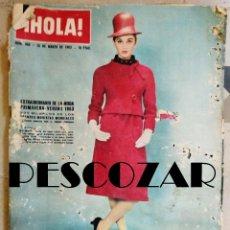 Coleccionismo de Revista Hola: REVISTA HOLA Nº 968 - 16 MARZO 1963. Lote 154740830