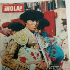 Coleccionismo de Revista Hola: HOLA 1094 14-8-1965 EL CORDOBES, SOFIA LOREN, AUDREY HERBURN, MIA FARROW, FRANK SINATRA. Lote 155170585
