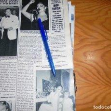 Coleccionismo de Revista Hola: RECORTE PRENSA : ENTREVISTA A ISABEL PANTOJA. HOLA, SEPT 1986. Lote 156022682