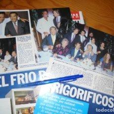 Coleccionismo de Revista Hola: RECORTE PRENSA : JULIO IGLESIAS, EN EL HOMENAJE A PEDRO VARGAS . HOLA, JUNIO 1984 (). Lote 156030118