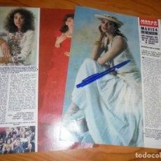 Coleccionismo de Revista Hola: RECORTE PRENSA : MARISA BERENSON, MODAS VERANO 84 . HOLA, JUNIO 1984 (). Lote 156030734