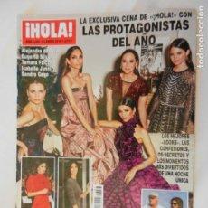 Coleccionismo de Revista Hola: HOLA REVISTA 3883 02-01-2019 LAS PROTAGONISTAS DEL AÑO . Lote 156401014
