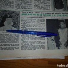 Coleccionismo de Revista Hola: RECORTE PRENSA : AMPARO MUÑOZ, NUEVA PELICULA. HOLA, JUNIO 1981 (). Lote 156636622