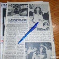 Coleccionismo de Revista Hola: RECORTE PRENSA : LA MISS NUEVA YORK, DESCALIFICADA. HOLA, JUNIO 1981 (). Lote 156637142