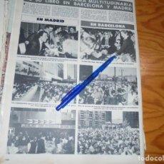 Coleccionismo de Revista Hola: RECORTE PRENSA : JULIO IGLESIAS FIRMA DE SU LIBRO EN MADRID Y BARCELONA. HOLA, JUNIO 1981 (). Lote 156638666