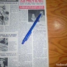 Coleccionismo de Revista Hola: RECORTE PRENSA : DAVID BOWIE CON OONA CHAPLIN. HOLA, JUNIO 1981 (). Lote 156638966