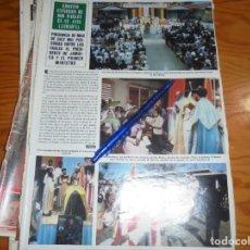 Coleccionismo de Revista Hola: RECORTE PRENSA : EMOTIVO ENTIERRO DE BOB MARLEY EN JAMAICA. HOLA, JUNIO 1981 (). Lote 156639886