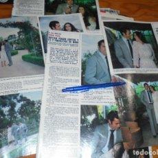 Coleccionismo de Revista Hola: RECORTE PRENSA : ISABEL PANTOJA Y PAQUIRRI : PROYECTOS DE BODA. HOLA, JUNIO 1981 (). Lote 156640030
