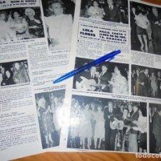 Coleccionismo de Revista Hola: RECORTE PRENSA : LOLA FLORES, PREMIO A LA PROFESIONALIDAD. CARMEN SEVILLA. HOLA, MARZO, 1982. Lote 156735274