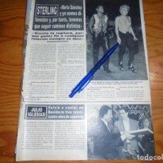 Collezionismo di Rivista Hola: RECORTE PRENSA : MARTA SANCHEZ, RUPTURA CON STERLING . HOLA, JULIO 1992 (). Lote 157324294