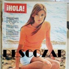 Collectionnisme de Magazine Hola: REVISTA HOLA Nº 1139 - 25 JUNIO 1966 - FRANÇOISE HARDY, LINDA JOHNSON, CARY GRANT, JULIANA HOLANDA. Lote 158075530