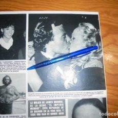 Coleccionismo de Revista Hola: RECORTE PRENSA : URSULA ANDRESS FELICITA A JULIO IGLESIAS. HOLA, OCTB 1983 (). Lote 158199630