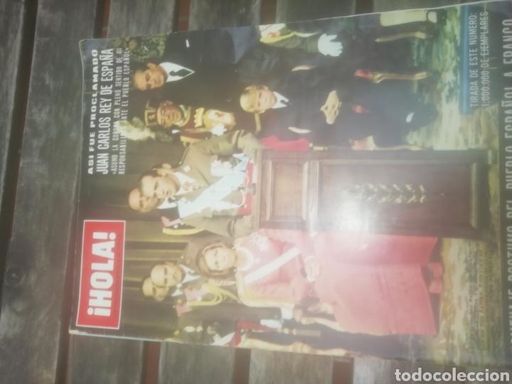 REVISTA HOLA HOMENAJE PÓSTUMO DEL PUEBLO ESPAÑOL A FRANCO (Coleccionismo - Revistas y Periódicos Modernos (a partir de 1.940) - Revista Hola)
