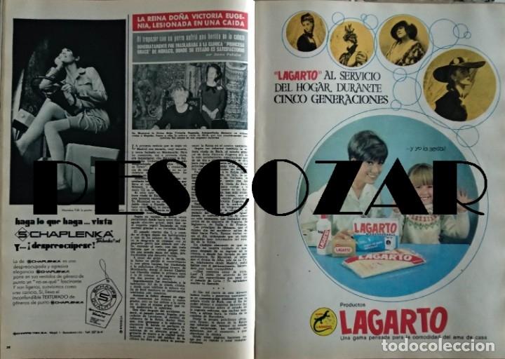 Coleccionismo de Revista Hola: REVISTA HOLA Nº 1229 - 16 MARZO 1968 - FABIOLA, DALIDA, SERRAT, EUROVISION, MIGUEL BOSÉ - Foto 2 - 154935730