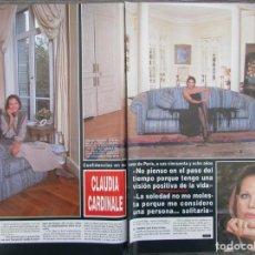 Coleccionismo de Revista Hola: RECORTE REVISTA HOLA Nº 2775 1997 CLAUDIA CARDINALE. 4 PGS. Lote 159031402
