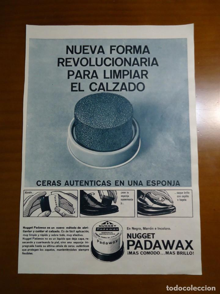RECORTE REVISTA HOLA ANUNCIO PUBLICITARIO AÑO 1965 DE PADAWAX (Coleccionismo - Revistas y Periódicos Modernos (a partir de 1.940) - Revista Hola)