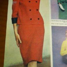 Coleccionismo de Revista Hola: RECORTE REVISTA HOLA AÑO 1965 MODAS. Lote 159150914