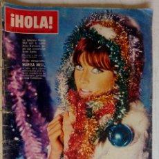 Coleccionismo de Revista Hola: HOLA. MARISA MELL, NOCHE DE LOS OSCARS ACTORES, MISS MUNDO, TRUMAN CAPOTE FIESTA, MARLON BRANDO. Lote 159231166