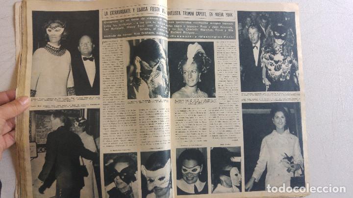 Coleccionismo de Revista Hola: HOLA. MARISA MELL, NOCHE DE LOS OSCARS ACTORES, MISS MUNDO, TRUMAN CAPOTE FIESTA, MARLON BRANDO - Foto 6 - 159231166