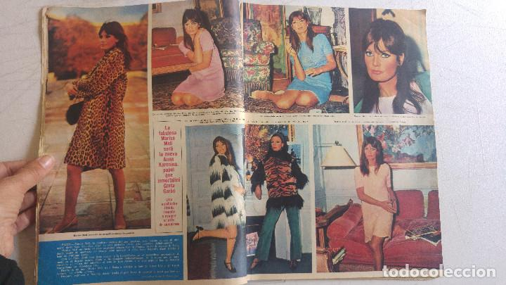 Coleccionismo de Revista Hola: HOLA. MARISA MELL, NOCHE DE LOS OSCARS ACTORES, MISS MUNDO, TRUMAN CAPOTE FIESTA, MARLON BRANDO - Foto 12 - 159231166