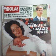 Collectionnisme de Magazine Hola: 14805 - HOLA Nº 2238, DEL 09-07-87, PORTADA DE MYRIAM DE LA SIERRA MADRE. Lote 159241214