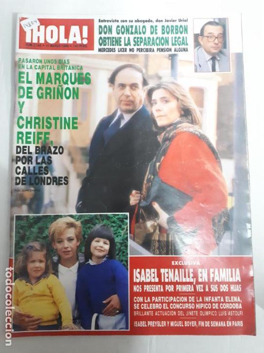 14804 - HOLA Nº 2169, DEL 20-03-86, PORTADA DEL MARQUES DE GRIÑON EN LONDRES (Coleccionismo - Revistas y Periódicos Modernos (a partir de 1.940) - Revista Hola)