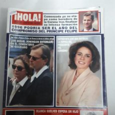 Collectionnisme de Magazine Hola: 14780 - HOLA Nº 2702, DEL 23-05-96, DOBLE PORTADA DE ANA BOTELLA Y LUIS MIGUEL DOMINGUIN. Lote 159268138