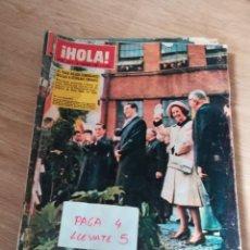 Coleccionismo de Revista Hola: REVISTA HOLA 1015 * 8 FEBRERO 1964 * ALAN LADD + AGNES SPAAK PELICULA EN ESPAÑA + MARIOLA * 58. Lote 159281122