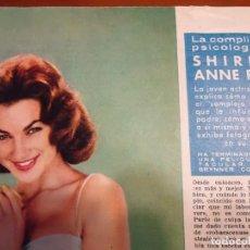 Coleccionismo de Revista Hola: RECORTE REVISTA HOLA AÑO 1963 ARTICULO DE SHIRLEY ANNE FIELD. Lote 159361482