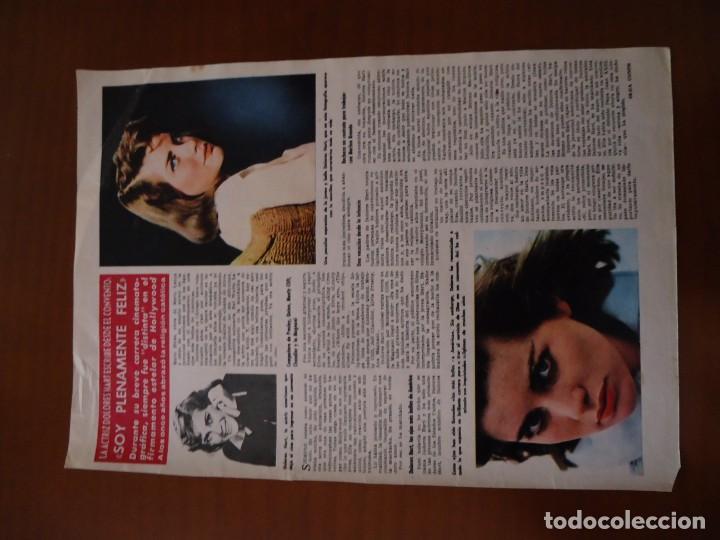 Coleccionismo de Revista Hola: Recorte revista hola año 1963 articulo Dolores Hart - Foto 2 - 159362302