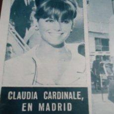 Coleccionismo de Revista Hola: RECORTE REVISTA HOLA AÑO 1963 PEQUEÑO ARTICULO CLAUDIA CARDINALE. Lote 159363314