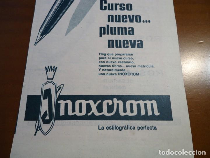 RECORTE REVISTA HOLA AÑO 1963 PUBLICIDAD INOXCROM (Coleccionismo - Revistas y Periódicos Modernos (a partir de 1.940) - Revista Hola)