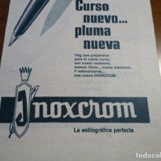 Coleccionismo de Revista Hola: RECORTE REVISTA HOLA AÑO 1963 PUBLICIDAD INOXCROM. Lote 159364802