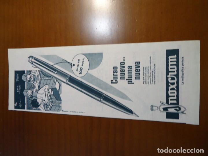 Coleccionismo de Revista Hola: Recorte revista hola año 1963 publicidad Inoxcrom - Foto 2 - 159364802