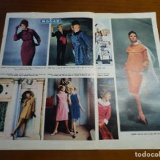Coleccionismo de Revista Hola: RECORTE REVISTA HOLA ARTICULO MODAS AÑO 1963. Lote 159464382