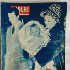 Coleccionismo de Revista Hola: REVISTA HOLA! DICIEMBRE 1960. Lote 159577882